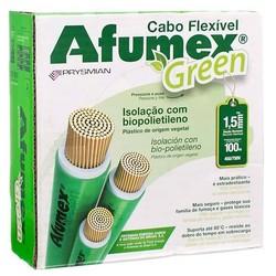 CABO COBRE FLEXIVEL AFUMEX  1,5MM  VERDE/AMARELO 750V - PIRELLI