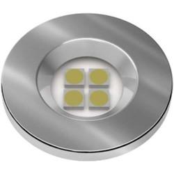 LUMINARIA PONTUAL REDONDA 1,2W 4 LED 6000K BIVOLT CROMADA E515.C - NUZE / ARTETÍ
