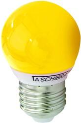 LÂMPADA BOLINHA LED 1W 220V AMARELA 11080079 - TASCHIBRA