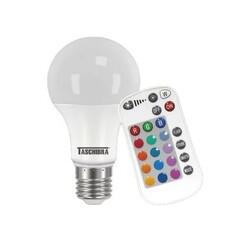 LAMPADA BULBO LED 9W TKL RGB IR C/CONTROLE  11080451 - TASCHIBRA