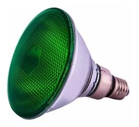 LAMPADA PAR38 100W 127V VERDE 490 - ECROM