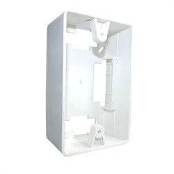 CAIXA 2X4 PVC SOBREPOR BRANCA - REAL FIOS