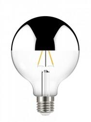 LÂMPADA FILAMENTO LED DEFLETORA 3W E27 BIV G95 11080495 - TASCHIBRA