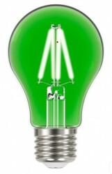 LÂMPADA FILAMENTO LED 4W E27 BIVOLT VERDE A60 11080498 - TASCHIBRA