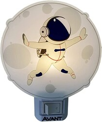 LUZ NOTURNA LED ASTRO 1W 80LM 3000K 151140574 - AVANT