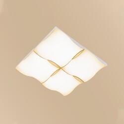 PLAFON LED DUNAR 50W 3000K BRANCO LL7050 - NORDECOR