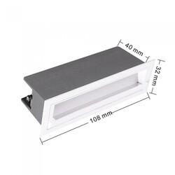 SPOT LED EMB WALL WASHER 10W 3000K BRANCO S33176 - MBLED