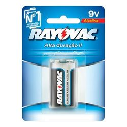 Bateria Alcalina Rayovac 9v