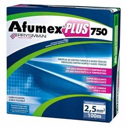 CABO FLEX AFUMEX 2,5MM AZUL 750V C/100MT PRYSMIAN
