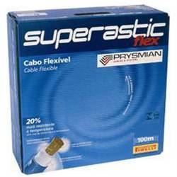 CABO SUPERASTIC FLEXÍVEL 750V 2.5MM AMARELO ROLO C/100MT